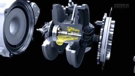 turbo charger animation mahle original exhaust gas turbocharger animation