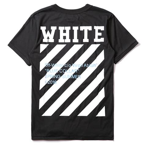 White And Blue Shirt white blue collar t shirt black