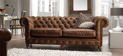 uk leather sofa chesterfield vintage range is timeless decor http