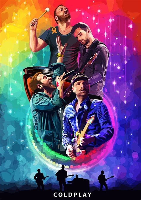 coldplay tickets coldplay mylo xyloto painting by fht designs