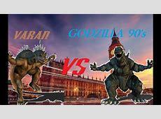 Varan VS Godzilla 90's (Godzilla Unleashed) - YouTube Godzilla Unleashed Monsters