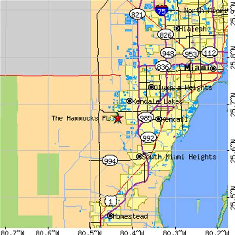 The Hammocks Florida the hammocks florida fl population data races