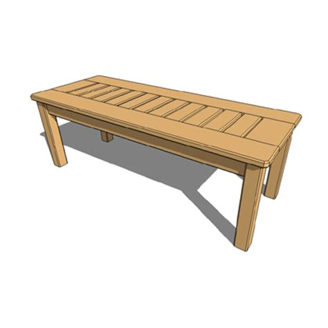 bench apply online cedar bench 3d model formfonts 3d models textures