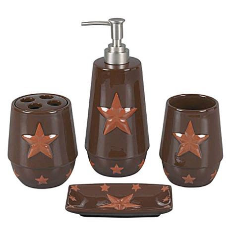 western bath decor laredo 4pc bath set