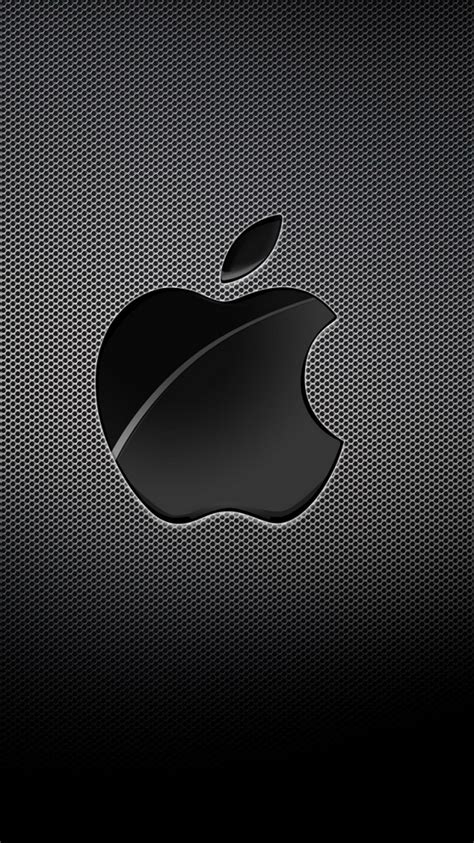 Creative Wood Apple Logo Android Iphone 4 4s 5 5s 5c 6 6s 7 Plus apple logo black grid background iphone 6 wallpaper hd free iphonewalls