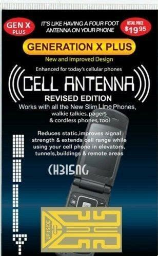 generation x cell phone antenna signal booster as seen on tv antena ebay