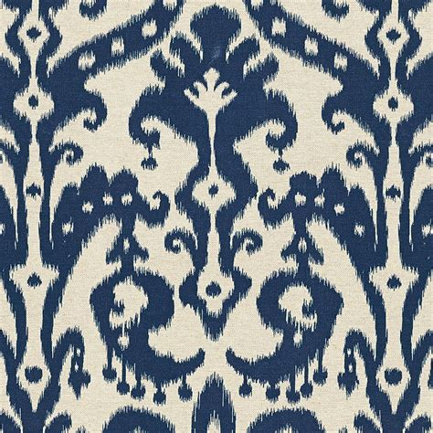 ikat upholstery venice ikat navy fabric by the yard ballard designs