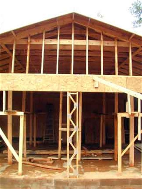 Garage Roof Construction Doug Robinson House Framing Garage Roof