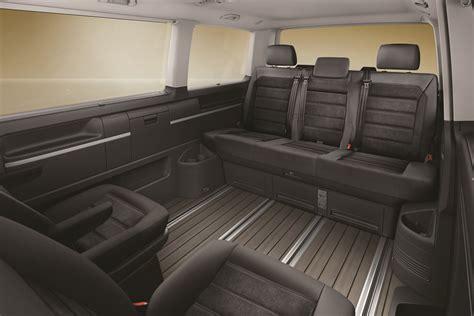 volkswagen multivan interior 2018 volkswagen multivan kombi 70 special edition revealed