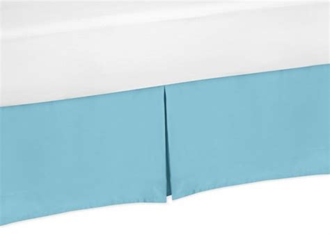 turquoise bed skirt turquoise queen bed skirt for turquoise and white chevron
