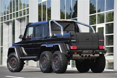 mercedes g class 6x6 brabus builds 700hp 6x6 g class mbworld