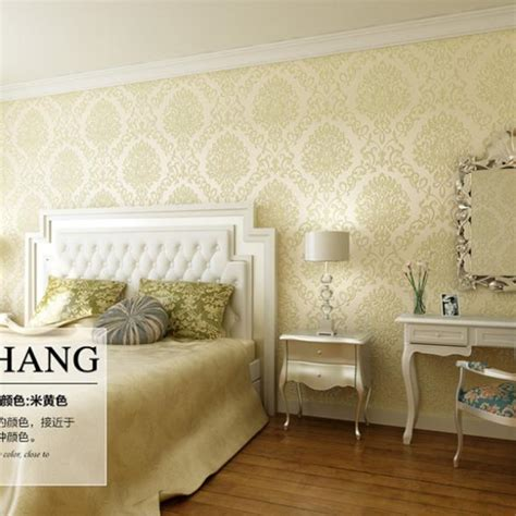 Designer Bedroom Wallpaper Aliexpress Buy Luxury Living Room Backdrop Design Wallpaper Bedroom Roll Paper