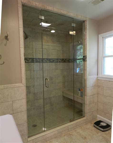 Frameless Steam Shower Doors with Frameless Steam Shower Doors Panel Door Panel Shower Door King Shower Door Installations