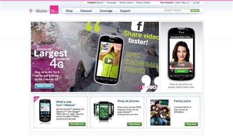 t mobile â interactive home pages â ethium ä thä é m e