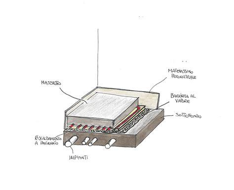 massetto per riscaldamento a pavimento il massetto su impianto di riscaldamento a pavimento o