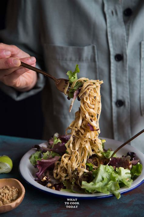 Todays Special Asian Beef Noodle Salad by Asian Crispy Ground Beef Noodle Salad What To Cook Today