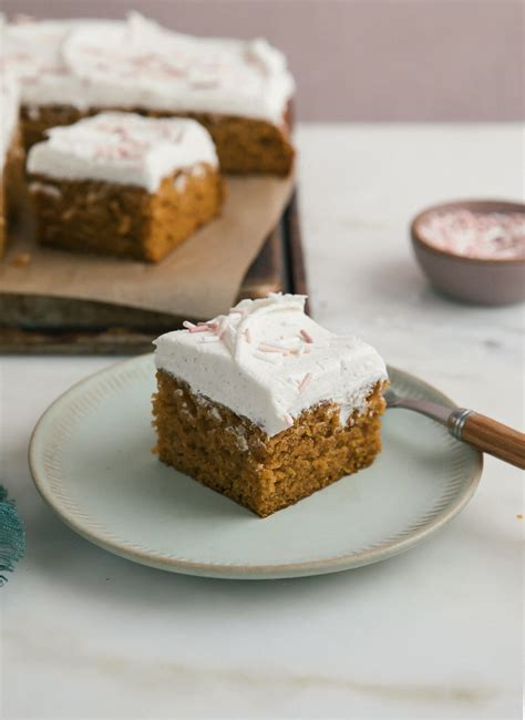 Cozy Kitchen Sheet Cake one bowl pumpkin sheet cake with brown butter frosting a