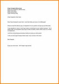 Letter Of Resignation Wording by Resign Letter Title Resume Cv Cover Letter