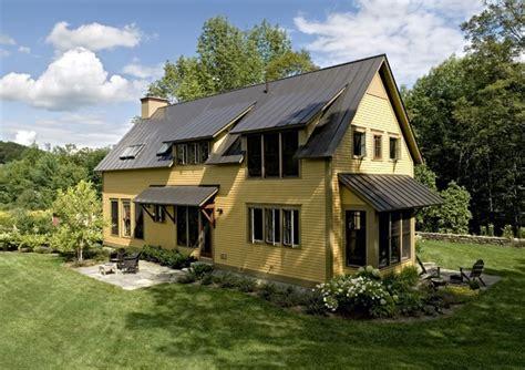 Under Awning Lighting Farmhouse Reinterpreted Farmhouse Exterior