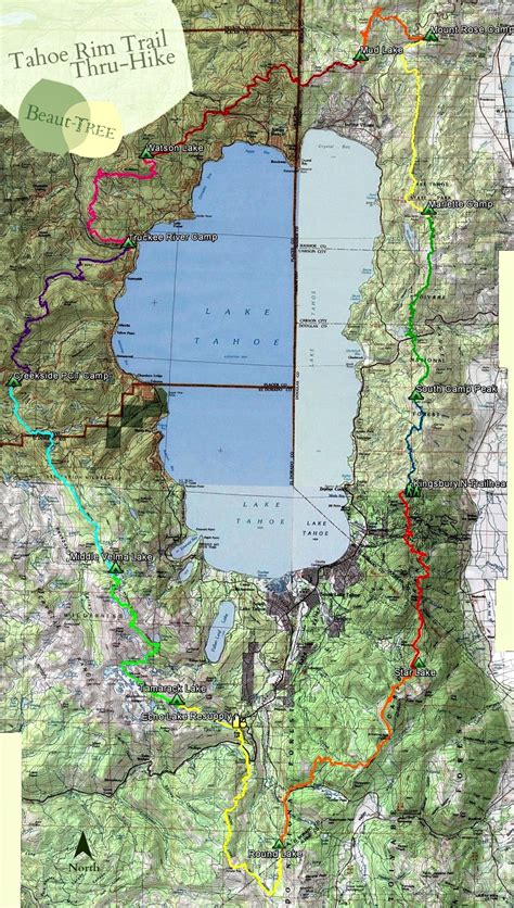 walking in circles backpacking the tahoe trail books topo tahoe trail autos classic cars reviews
