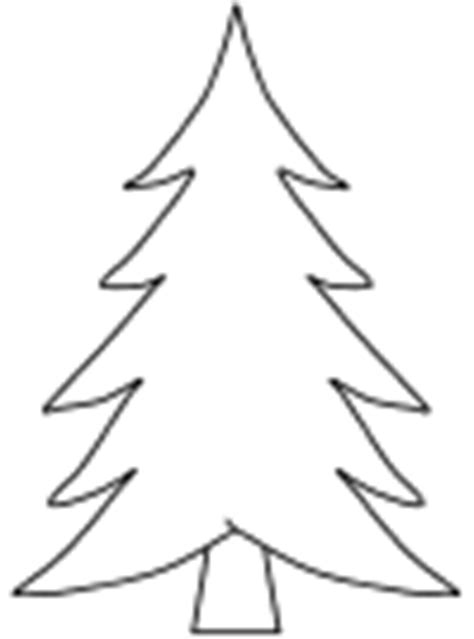 coloring page of evergreen tree winter coloring pages