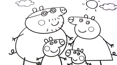 coloring pages for kites peppa pig coloring book pages kids fun art coloring video