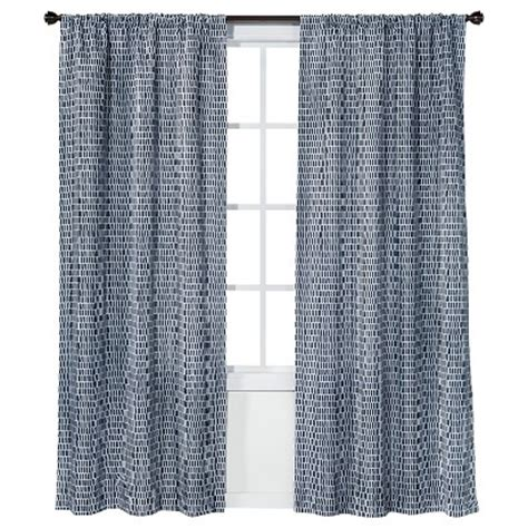 navy blue curtains target room essentials chesapeake sketch curtain panel target