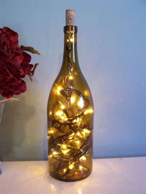 wine bottle light decoration crafts i d like to make