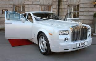 Phantom Rolls Royce White Wedding Cars Wedding Car Hire Cupid Carriages