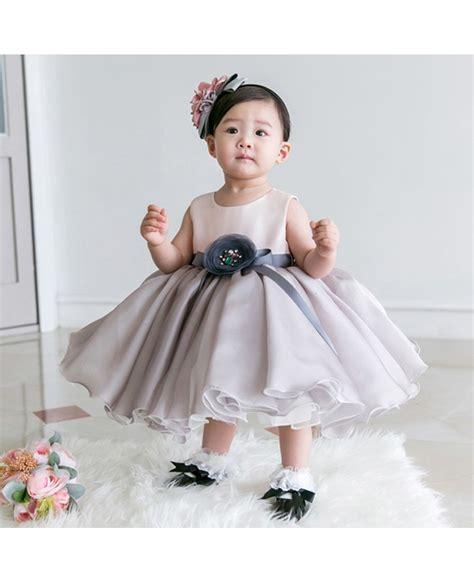 light in the box flower dresses light grey organza baby flower dress formal