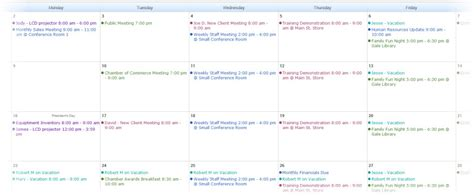 Web Calendar Five Reasons You Need A Web Calendar