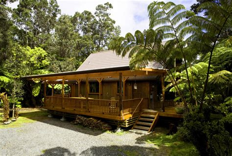 Vacation Rental House Plans lehua lodge romantic private vacation rental in volcano