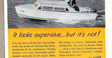 boat wraps grande prairie 1954 print ad lone star 21 ft aluminum cruise master boats