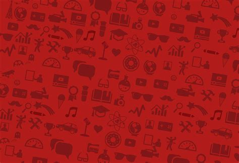 Youtube Background Pattern | youtube has a brand new logo