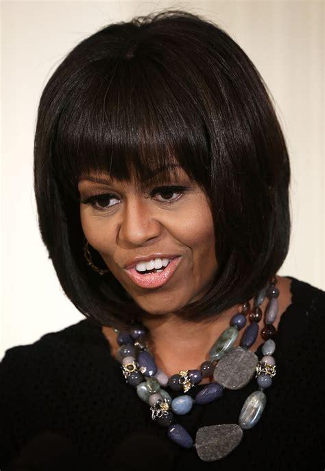 michelle obama straight human hair first lady wigs remy michelle obama b o b michelle obama looks stylebistro