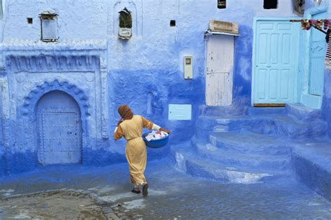 Travel Tuesday The Blue City Of Morocco Mohr Mcpherson