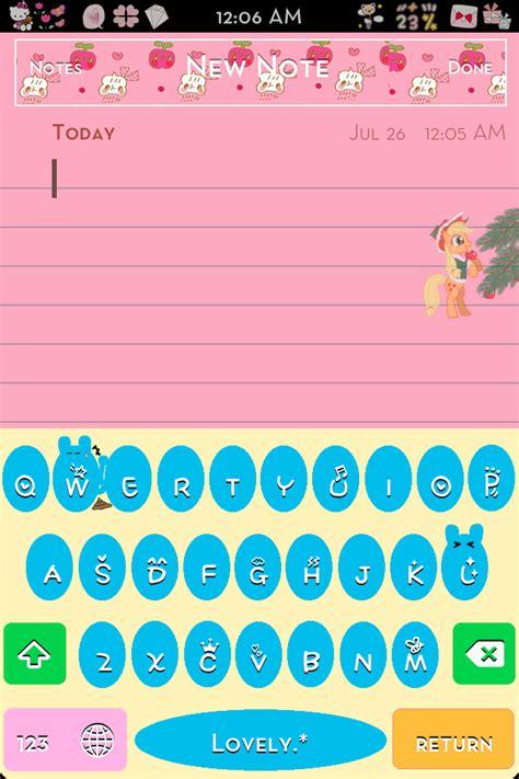 cute themes jailbreak kawaii fun color keyboards in progress