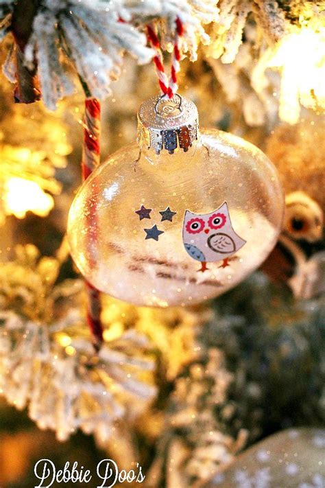 glass ornaments make how to make your own ornaments debbiedoos
