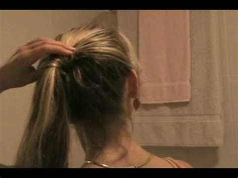 how to make drawstring ponytail from scratch how to make a bun with a weave ponytail hair style do