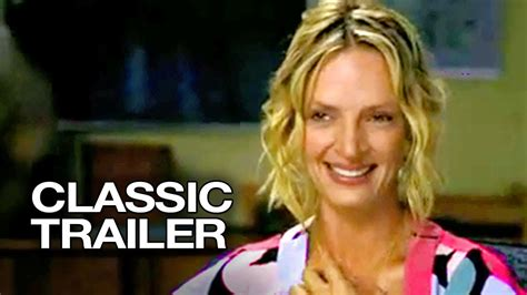 Uma Thurman Wants To Quit Acting To Take Care Of by Prime 2005 Official Trailer 1 Uma Thurman Hd