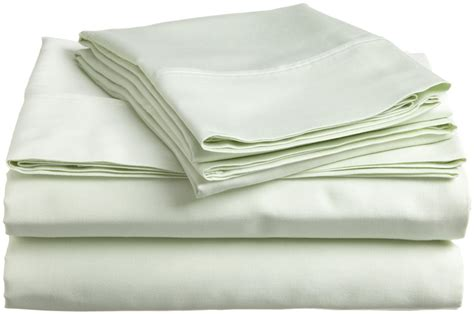 bed sheets material and thread count 5pc split king sheets mint green discount bedding company