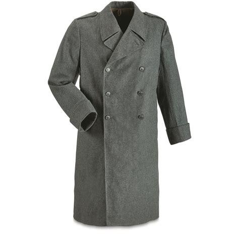 swiss surplus swiss surplus wool overcoat like new 674430