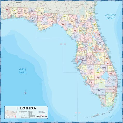 picture of map of florida florida county wall map maps