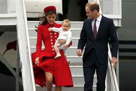 prince william and kate middleton in dunedin new zealand royal tour new zealand william kate and george take