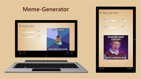 Meme generator for windows 8 windows and windows phone apps