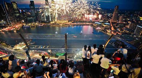 Tiket Sky Park Singapore marina bay sands skypark observation deck admission ticket
