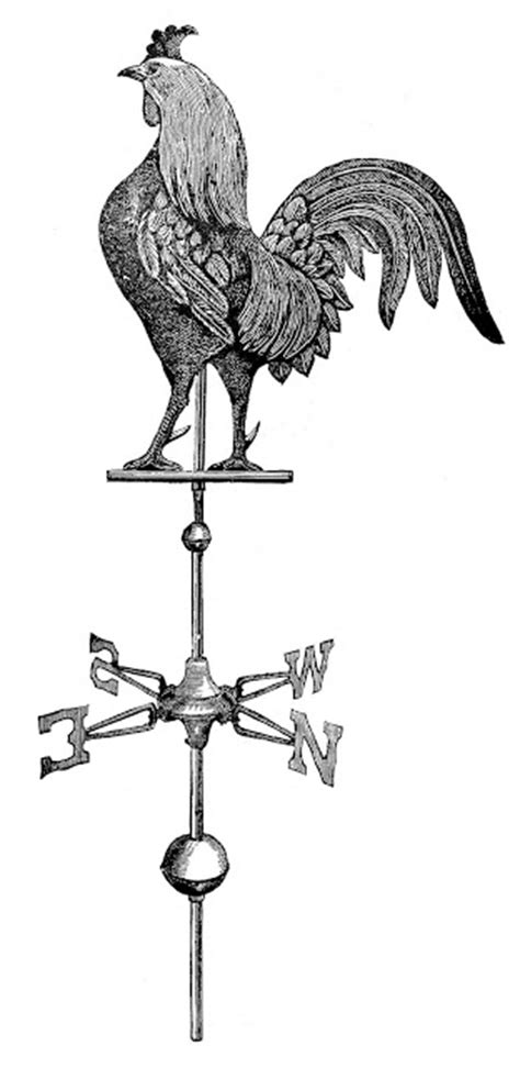 Request Day - Rooster Weather Vane, Gramophone, Elk