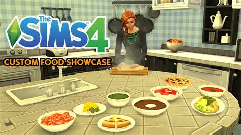 Custom Food the sims 4 custom food showcase