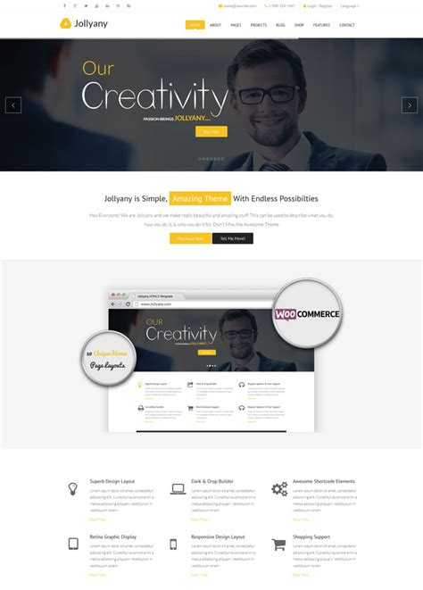drupal theme jollyany top 20 best selling drupal cms themes in themeforest