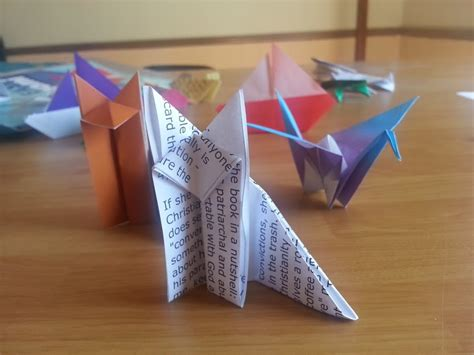 Origami Mail - what i learned turning my mail into origami